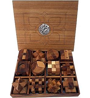 Amazon com: Balancing Nail Puzzle , Gravity games , Wooden Game