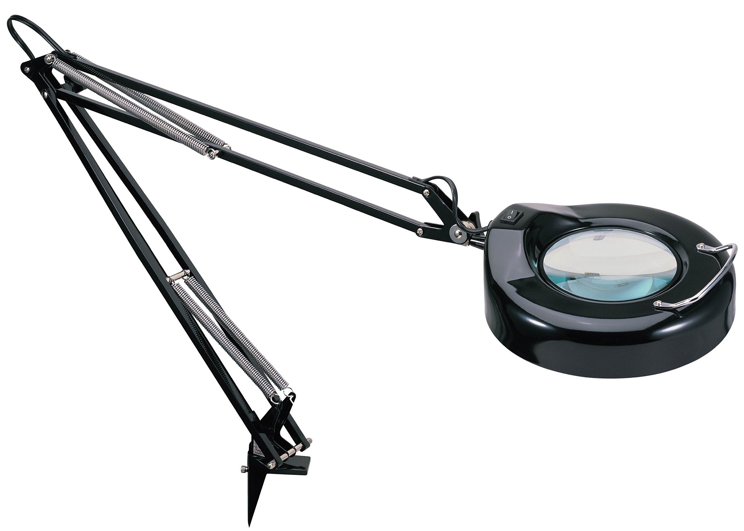V-LIGHT Magnifying Lamp Task Lamp, Black (VS103B5) by V- Light (Image #2)