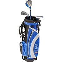 Tiger Plus Junior Golf Club Package Set + Bag
