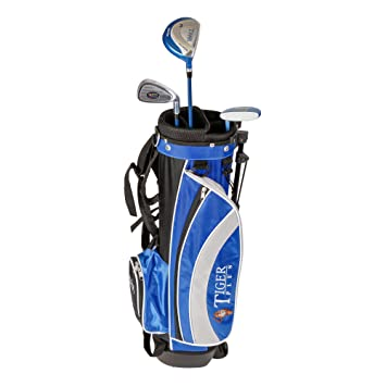 LONGRIDGE Golf Junior Tiger Plus Paket GPH 3 - Juego Completo de Palos de Golf, Talla 4-7