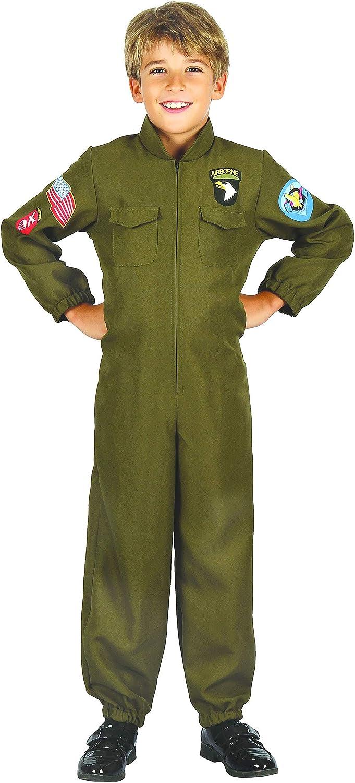 Generique - Disfraz piloto de cacería niño L 10-12 años (130-140 ...