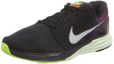 Nike Men's Lunarglide 7 Running Shoes (10 D(M) US, Black/
