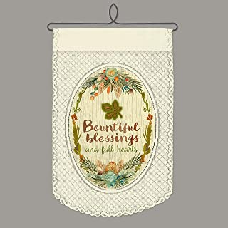 product image for Heritage Lace Bountiful Blessings Wall Hanging, Café