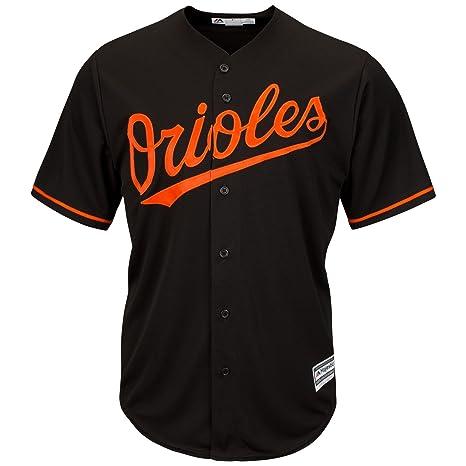 84e4d6dc2a6 Majestic Baltimore Orioles Cool Base Alternate Tackle Twill Baseball Jersey  (Small)