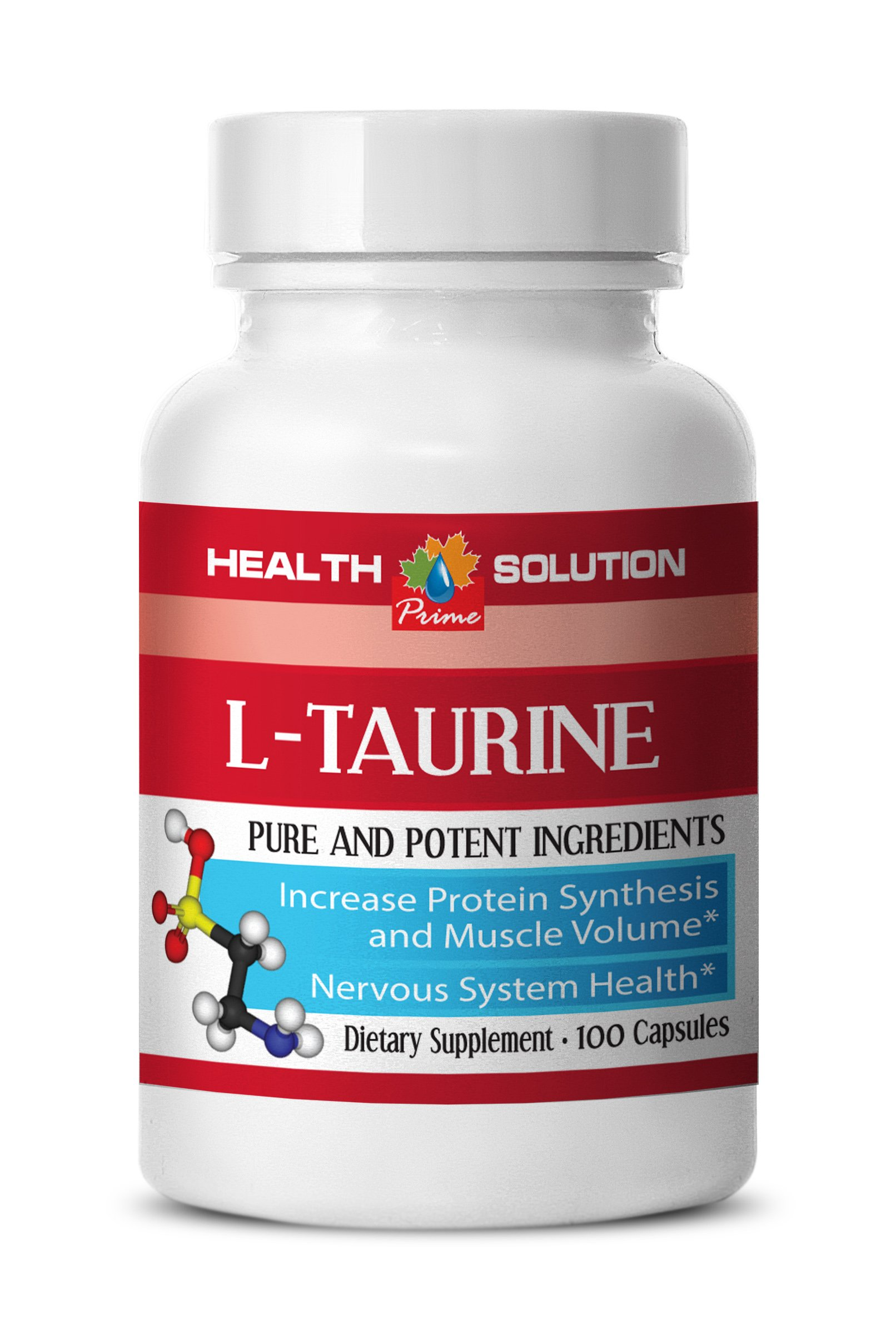 L-taurine supplement - L-TAURINE 500MG - support vision (1 Bottle)