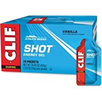 CLIF SHOT - Energy Gels - Vanilla Flavor - (1.2 Ounce Packet, 24 Count)