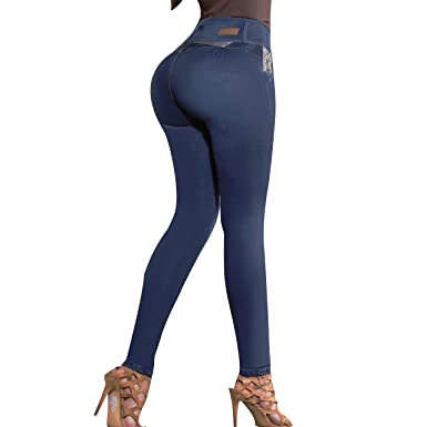 230782095da Aranza Pantalones Colombianos Levanta Cola Butt Lifting Colombian Jeans  High Waisted