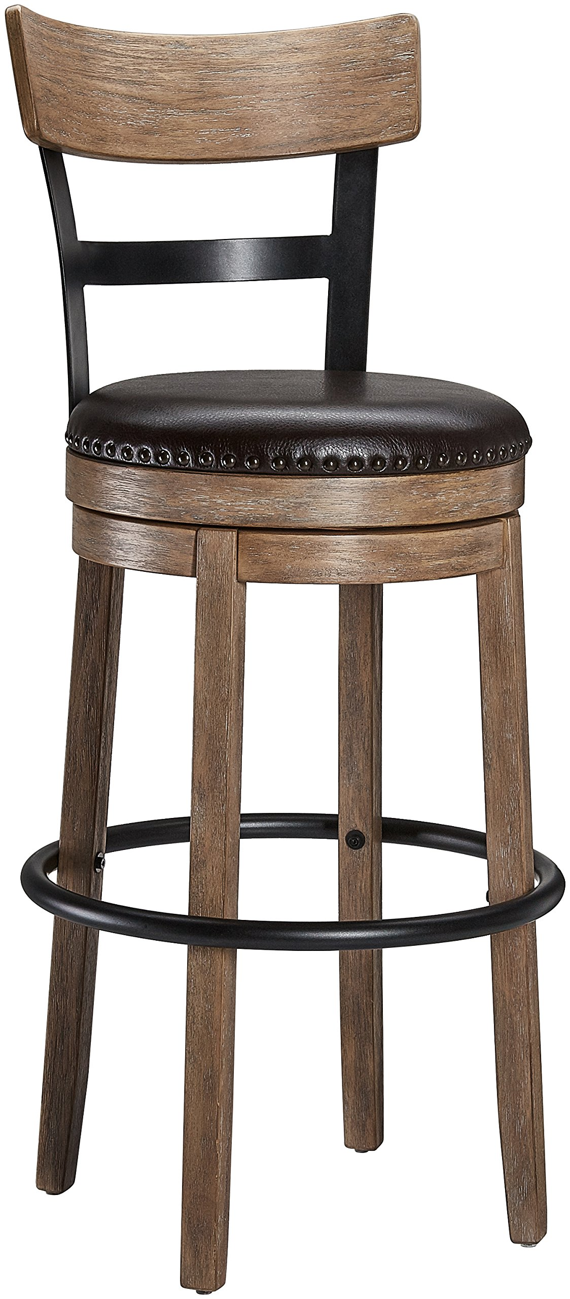 Huasen HSA-1001A Bar Stool, Light Brown by Huasen (Image #1)