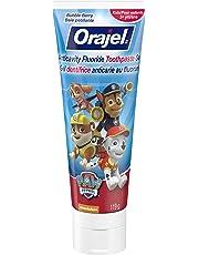 Orajel Anticavity Fluoride Toothpaste for Kids, Paw Patrol, 119-g