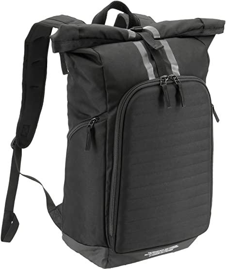 dc4ccf9d7543 Amazon.com  adidas Axis Roll-Top Backpack (Black White)  Sports ...