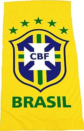 Brasil fútbol equipo oficial toalla - CBF: Amazon.es: Amazon.es