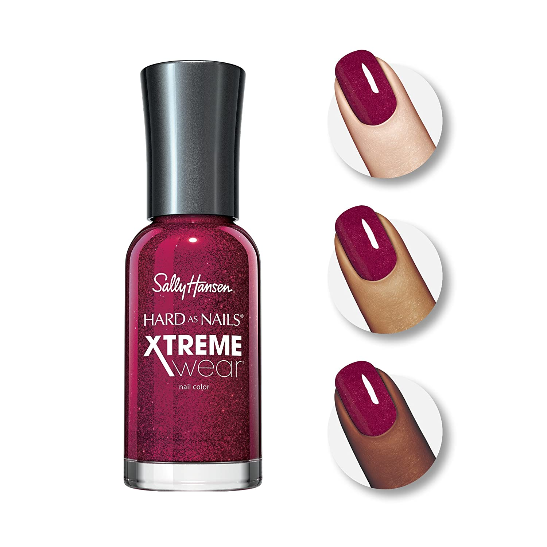 Amazon.com : Sally Hansen Xtreme Wear Nail Color: Red Carpet #390 ...