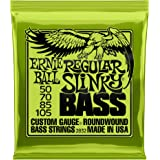 Ernie Ball Regular Slinky Nickel Wound Bass Set, .050 - .105