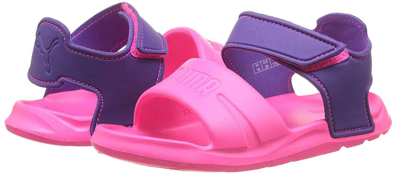 Puma Wild Sandal Injex PS, Zapatillas Infantil, Rosa (Knockout Pink-Electric Purple 03), 34.5 EU