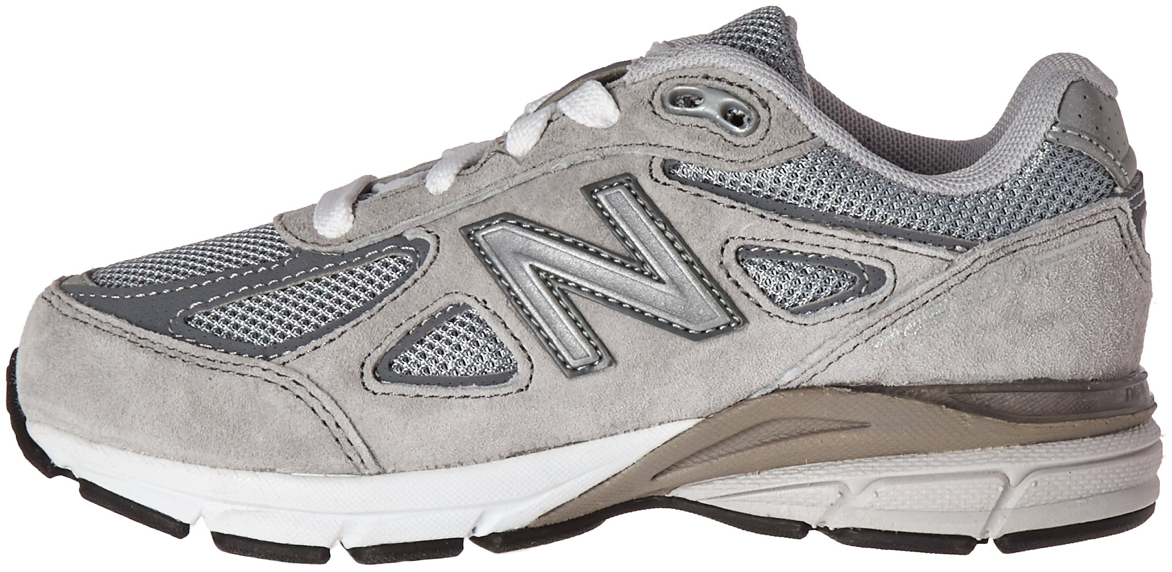 New Balance KJ990V4 Running Shoe (Little Kid/Big Kid), Grey/Grey, 1.5 M US Little Kid by New Balance (Image #5)