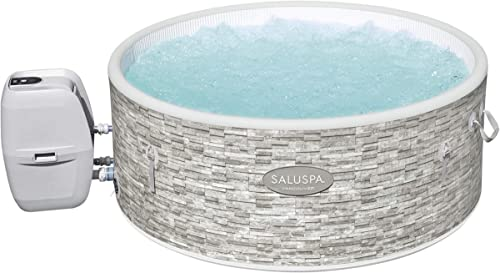Bestway SaluSpa Vancouver AirJet Plus 61″ x 24″ | Inflatable Hot Tub Portable Spa Fits 3-5 Adults