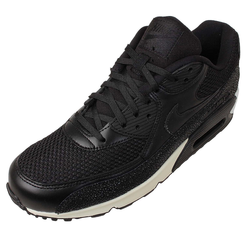 Nike Men's Air Max 90 Leather PA, Stingray-BLACK/BLACK-BLACK-SEA GLASS, 6 M  US: Amazon.ca: Shoes & Handbags