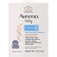 Aveeno Baby Eczema Therapy Soothing Bath Treatment for Relief of Dry, Itchy and Irritated Skin, Made with Soothing…