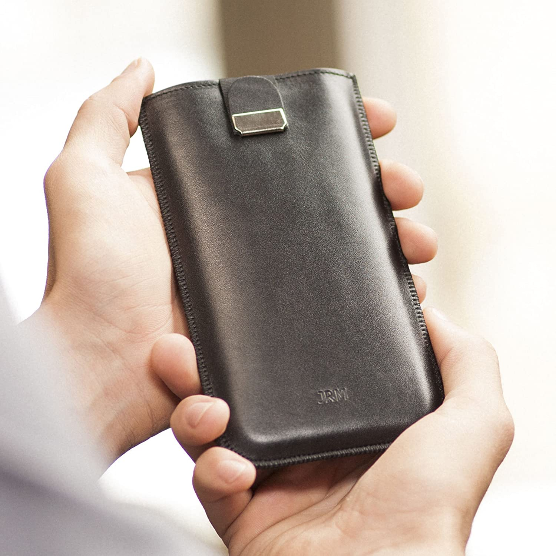 Funda De Cuero Para Samsung Galaxy S9+ S9 S8 S7 Active edge S6 note 4 5 j2 2017 AT& T a7 a5 a3 c9 j5 j7 j3 On7 Prime 2 a9 6 z3 edge+ s4 s5 e7 e5 s3 Personalizada Caja Bolsa Nombre o Iniciales Grabadas Case Cover