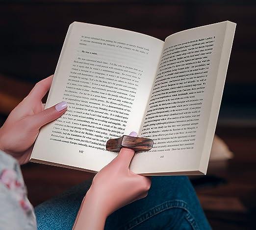 Amazon.com: TILISMA - Soporte para páginas de libros, hecho ...