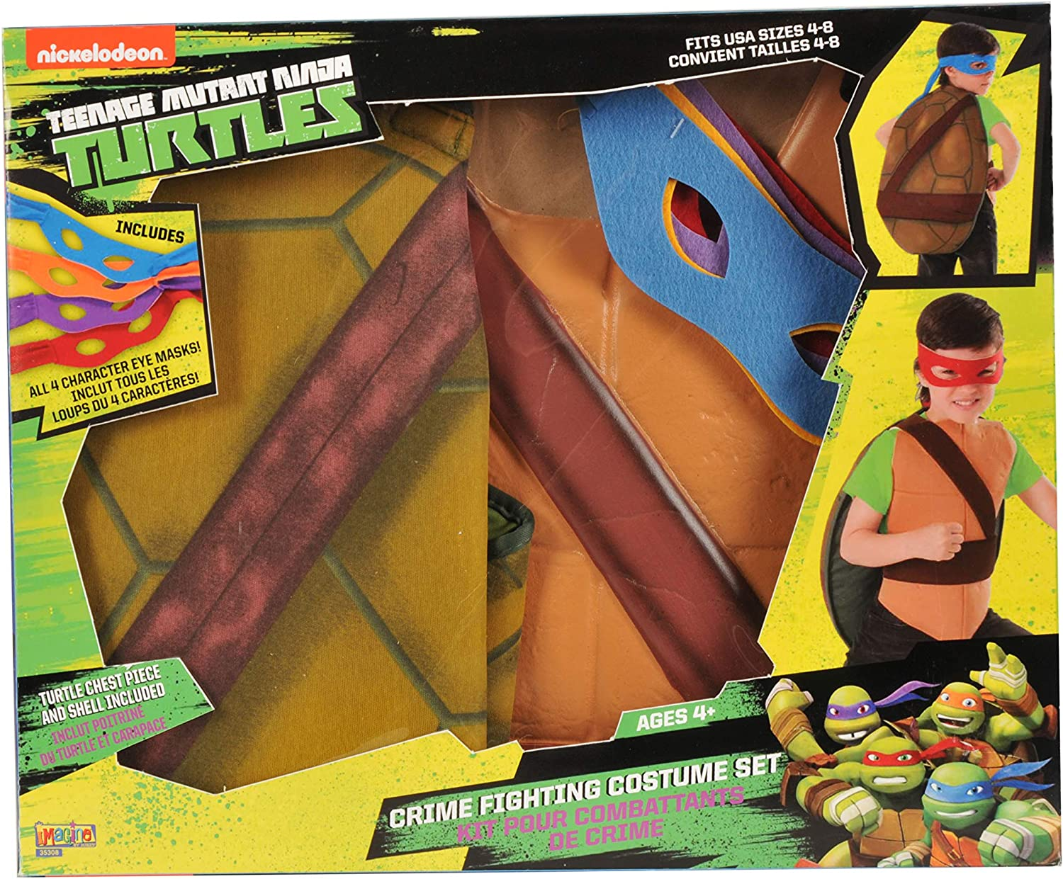 Amazon.com: Teenage Mutant Ninja Turtles Lucha contra la ...