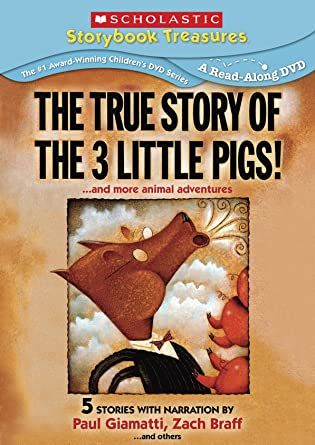 Amazon.com: True Story of the Three Little Pigs: True Story of the ...
