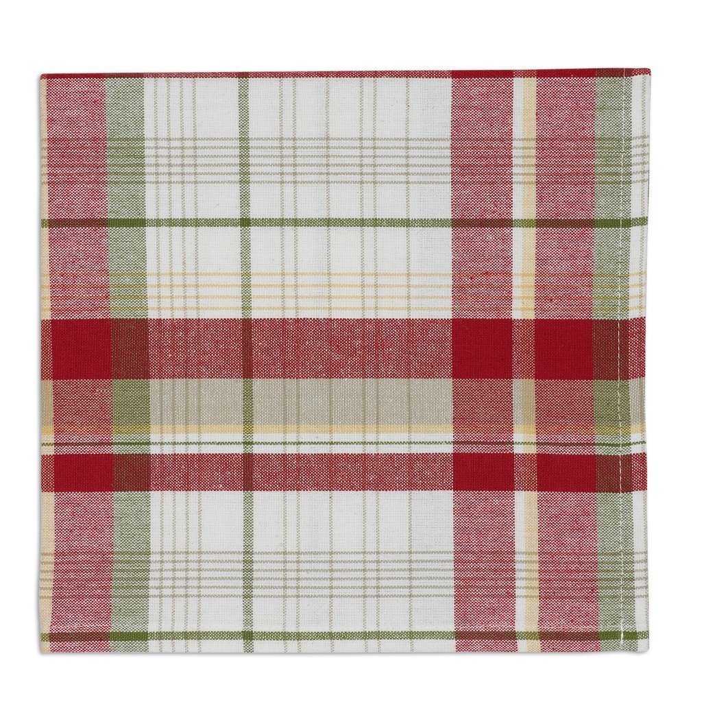 Heart of America Orchard Plaid Napkin - 6 Pieces by Heart of America (Image #1)