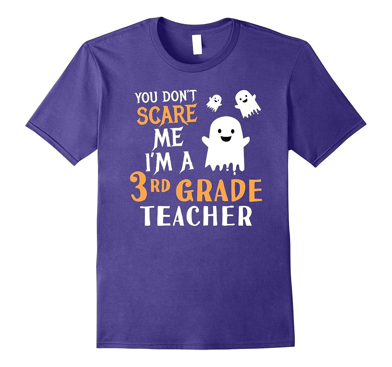 3rd Grade Teachers Halloween Shirt Third Grade Teach Gift-4LVS