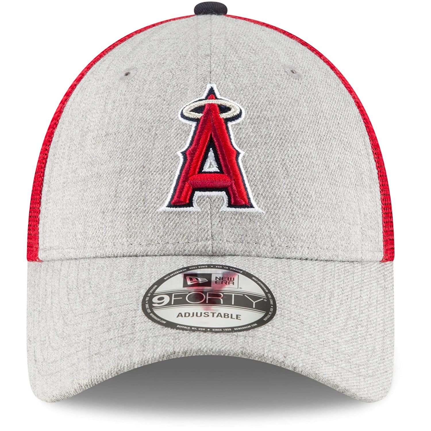 ecddff35566e1 Amazon.com   New Era MLB Turn Trucker 9FORTY Adjustable Snapback (Los  Angeles Angels)   Sports   Outdoors