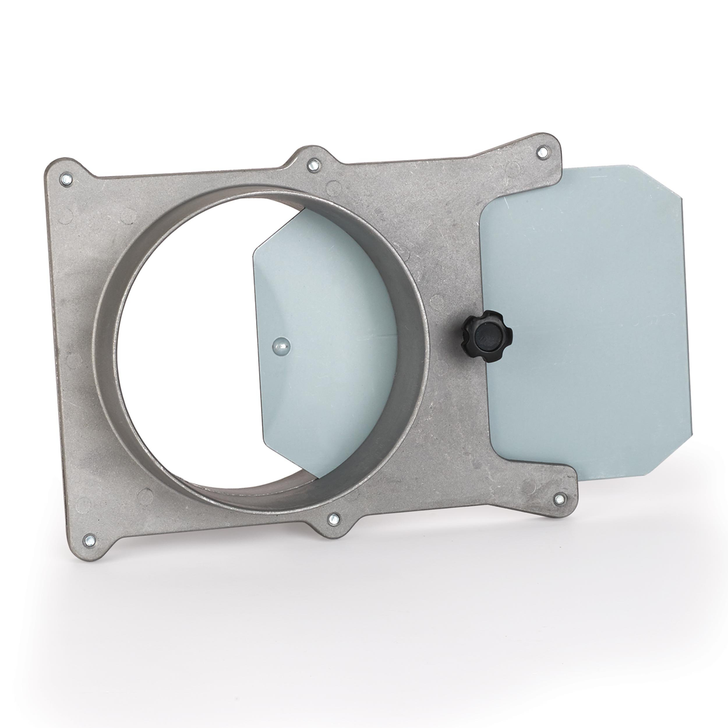 5'' Aluminum Blast Gate Dust Collection Fitting