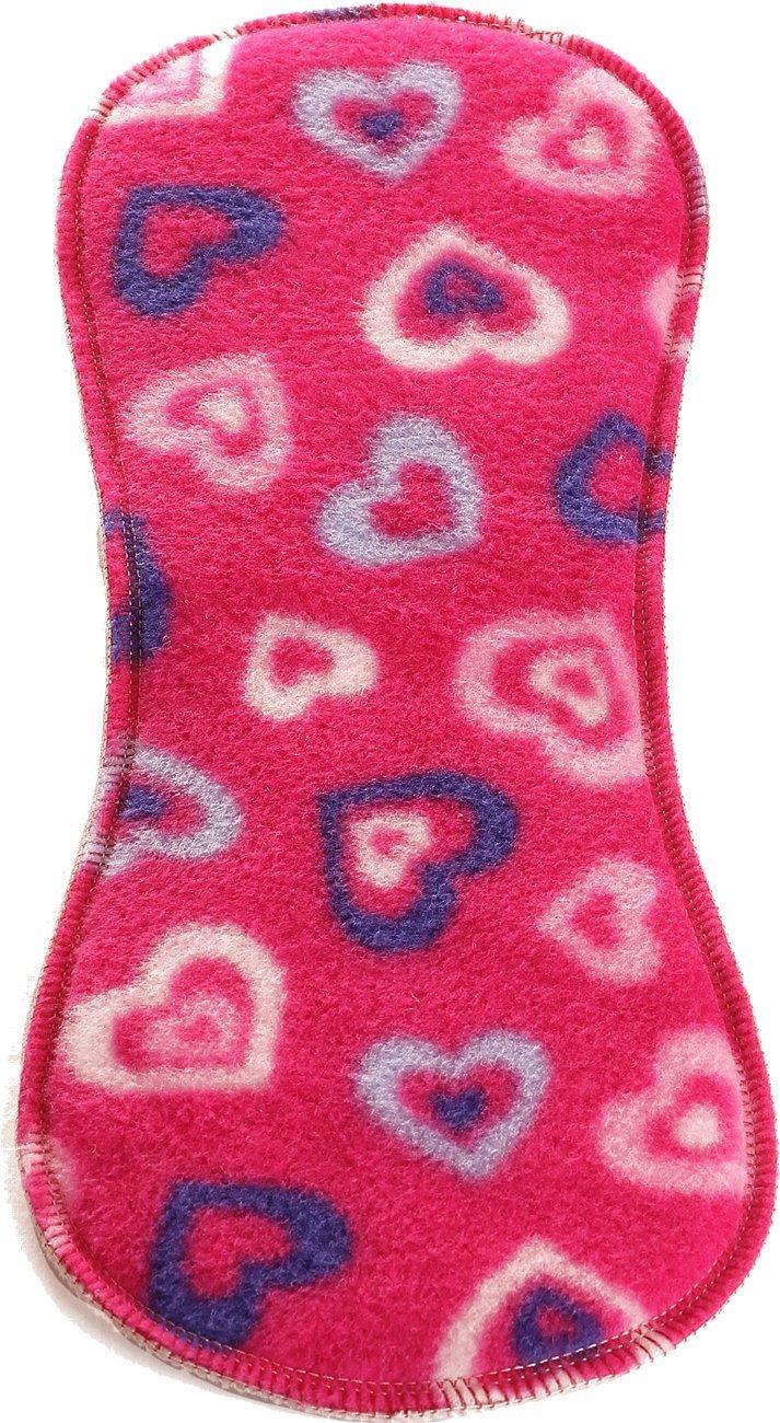Bum Booster anatomische Hanfeinlage mit Fleece 1 St/ück in the pink