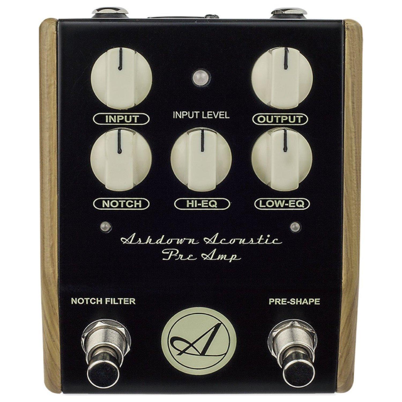Ashdown AA-PEDAL Acoustic Guitar Preamp Pedal by Ashdown