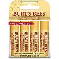 Burt's Bees Beeswax 100% Natural Lip Balm, 4 Pack