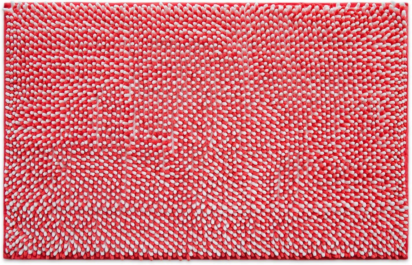 Natte tapis de bain corail wc tapis 50x55 cm Grey