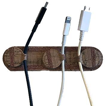COOYA Soporte magnético de pared triple cargador USB ...