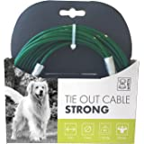 M-PETS Tie Out Cable Strong - 1700Lb-9M