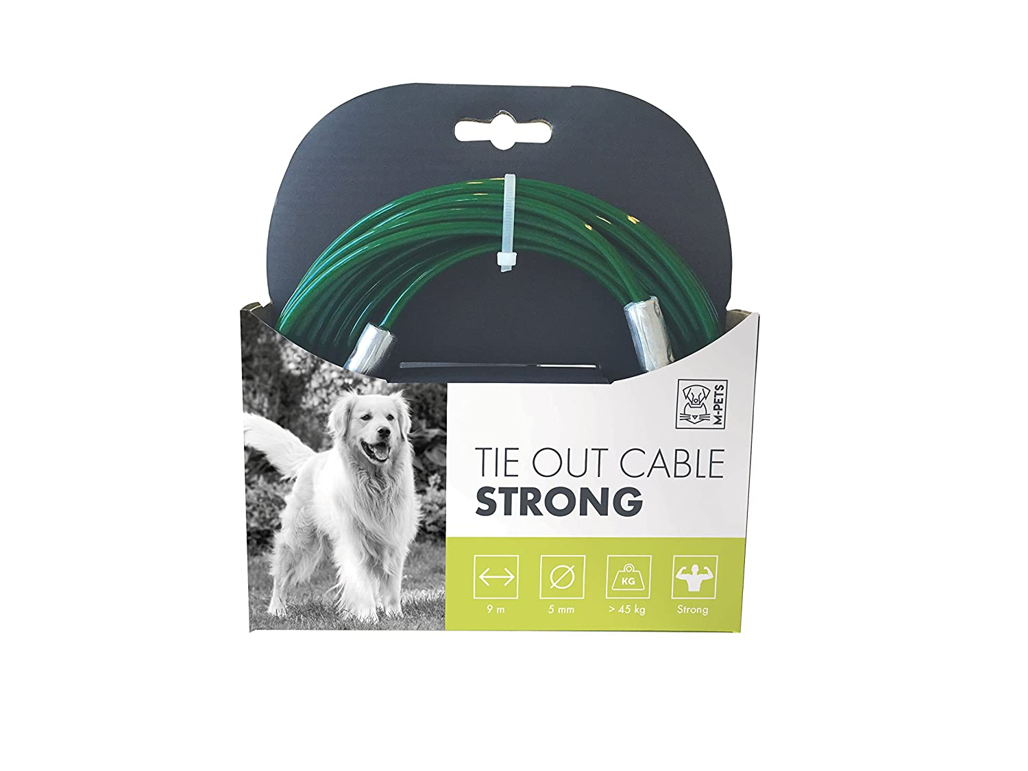 MPETS Câble d'attache Strong pour Chien - Lot de 2 10800399