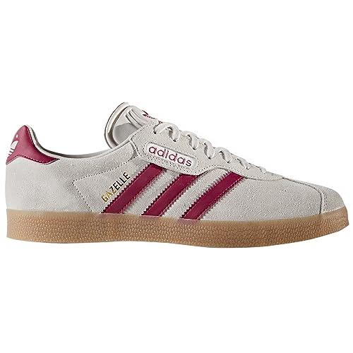 Adidas Original Gazelle Super Beige y Marino. Zapatillas de de Deporte para Hombre. Sneakers. Tenis. Deportivas.: Amazon.es: Zapatos y complementos