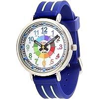 KIDDUS Reloj Educativo Analógico para niño, niña. Aprende la Hora con Nuestro Fácil Sistema Time Teacher. Ejercicios…