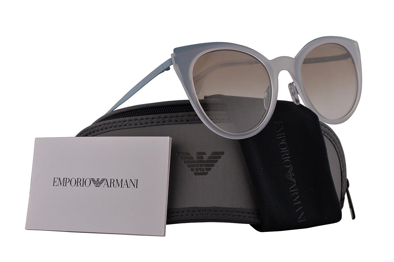 95b6c31bd4d Amazon.com  Emporio Armani EA2063 Sunglasses Matte Turquoise w Grey Gradient  Lens 52mm 321811 EA 2063  Clothing