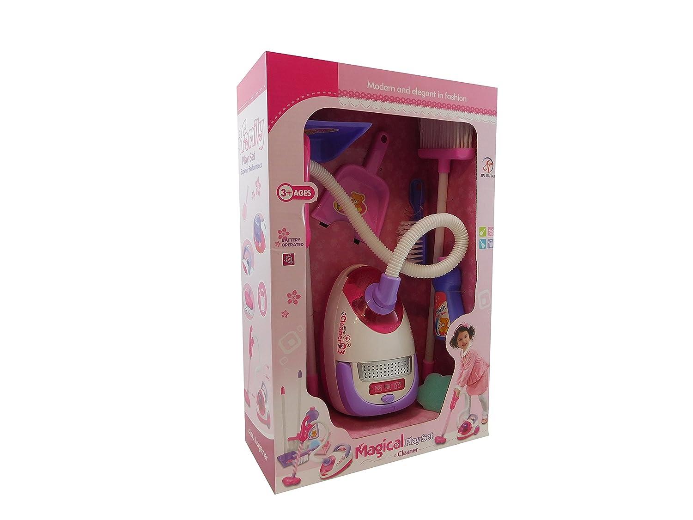 Allkindathings giocattolo per aspirapolvere Hoover con vera aspirazione completo di accessori Three Bowness Ltd amz_BT742963