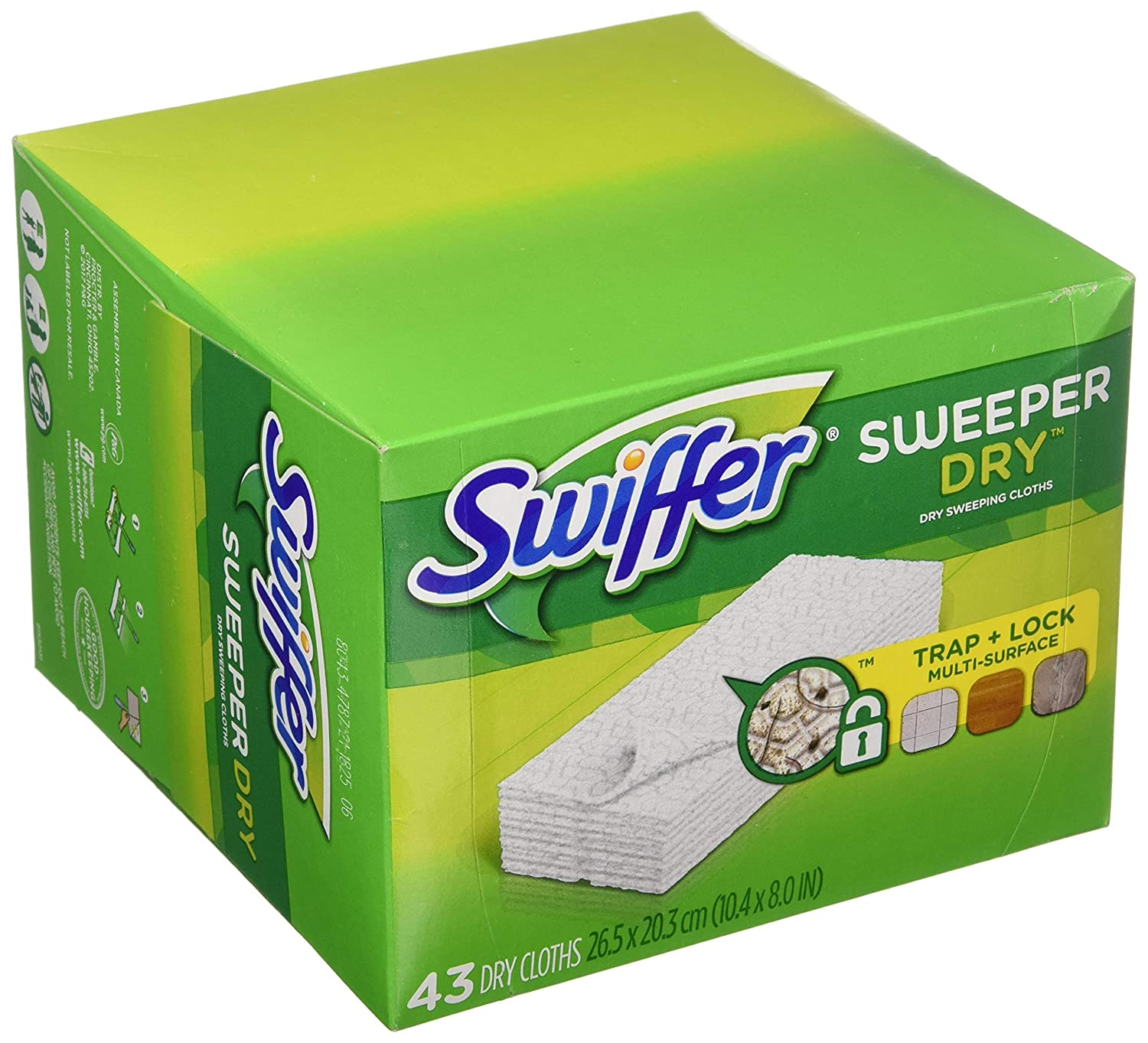 Swiffer Sweeper Dry Pad Refills, Unscented (86 ct.)