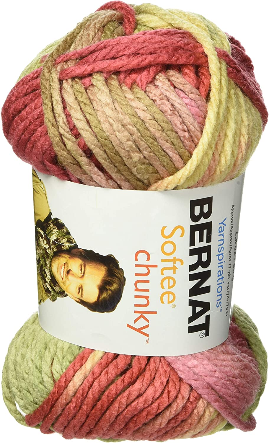 Bernat Softee Chunky Ombre Yarn (6-Pack) Summerset 161129-29222