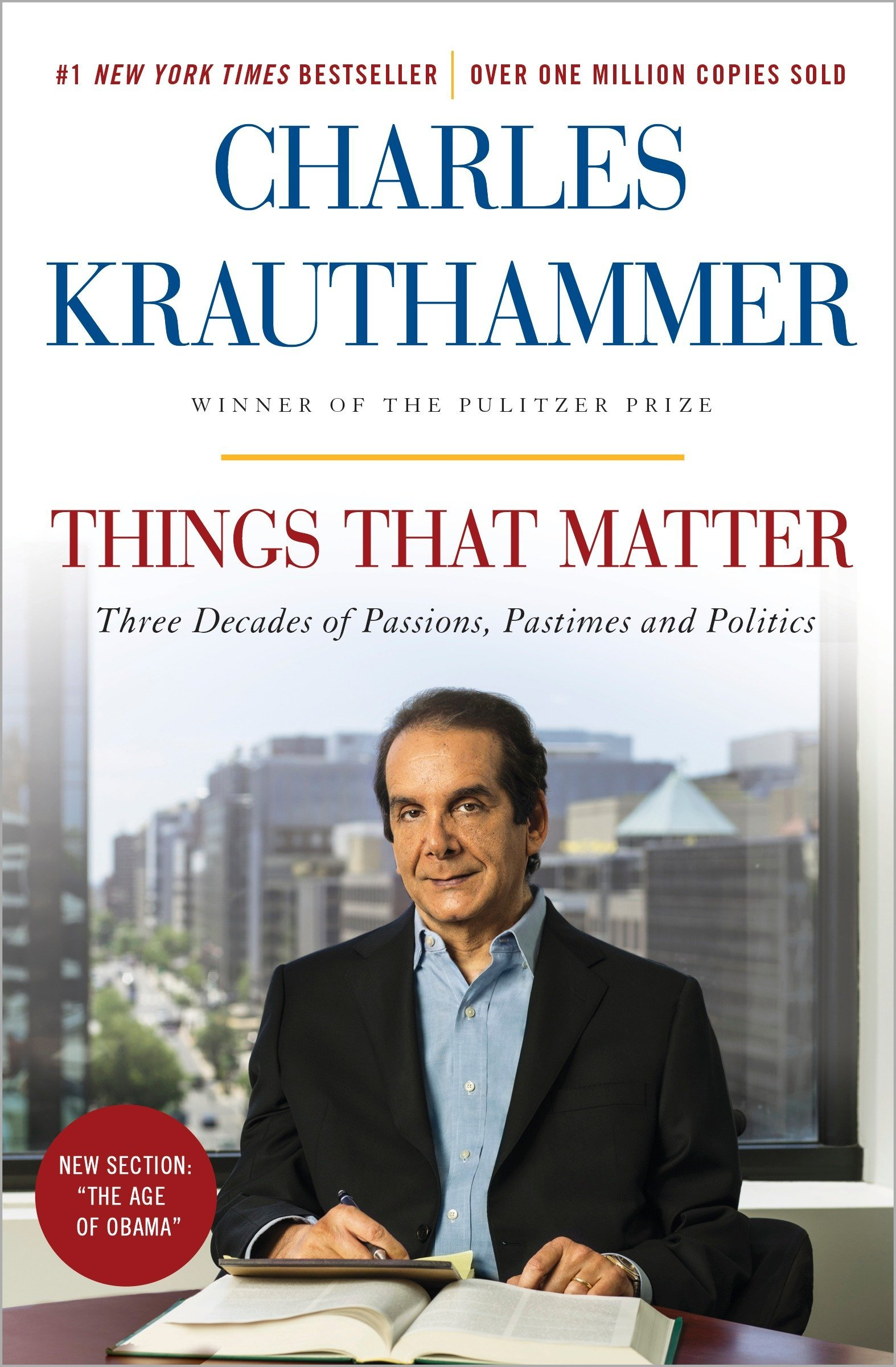 Image result for things that matter krauthammer