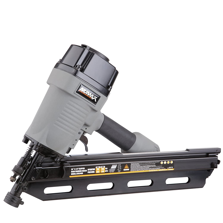 Numax SFR3490 34-Degree Clipped Head Framing Nailer - Power Framing ...