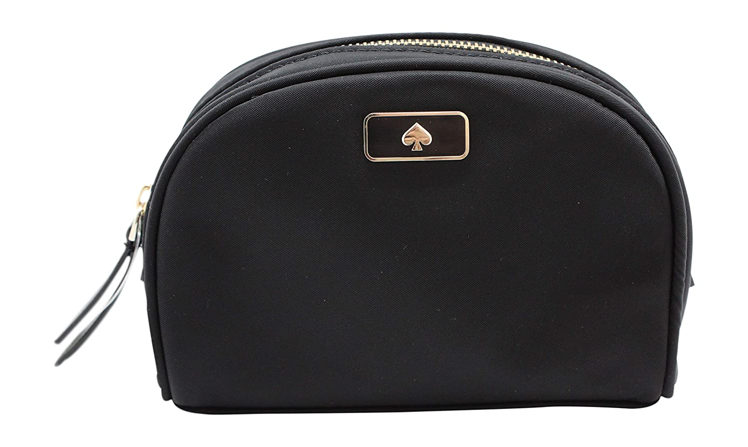 Kate Spade New York Small Dome Cosmetic Make-Up Clutch Bag Black