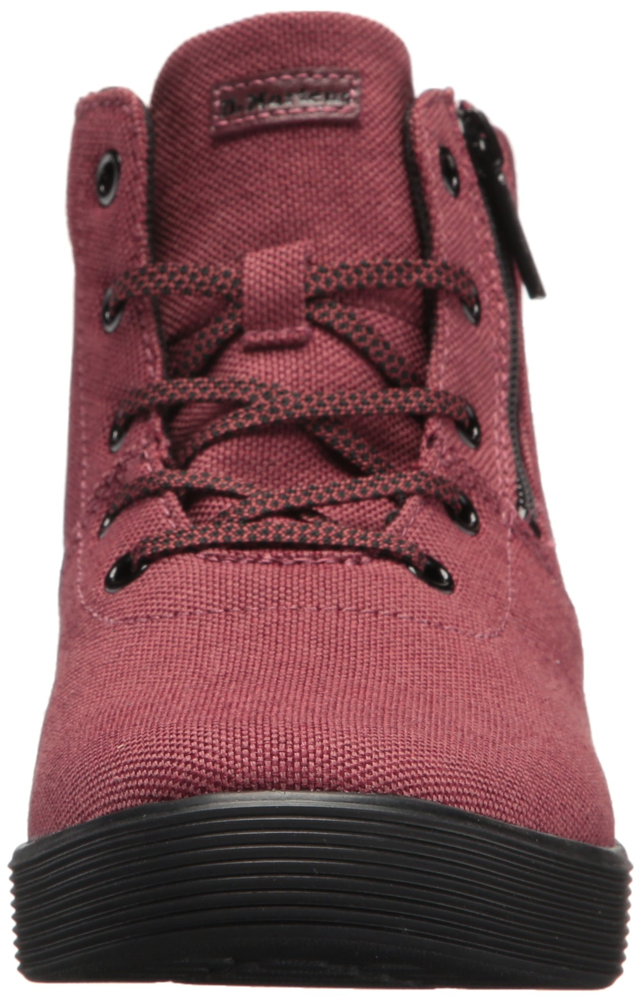 Dr. Martens Women's Maegley Fashion Boot, Cherry Red Woven Textile+Fine Canvas, 5 Medium UK (7 US) by Dr. Martens (Image #4)