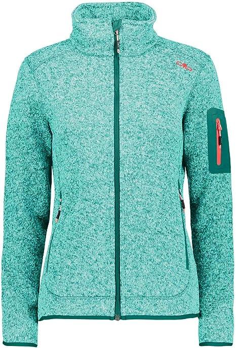 S Donna Ice Mint//Emerald CMP Pile Knit Tech 3H14746 Verde