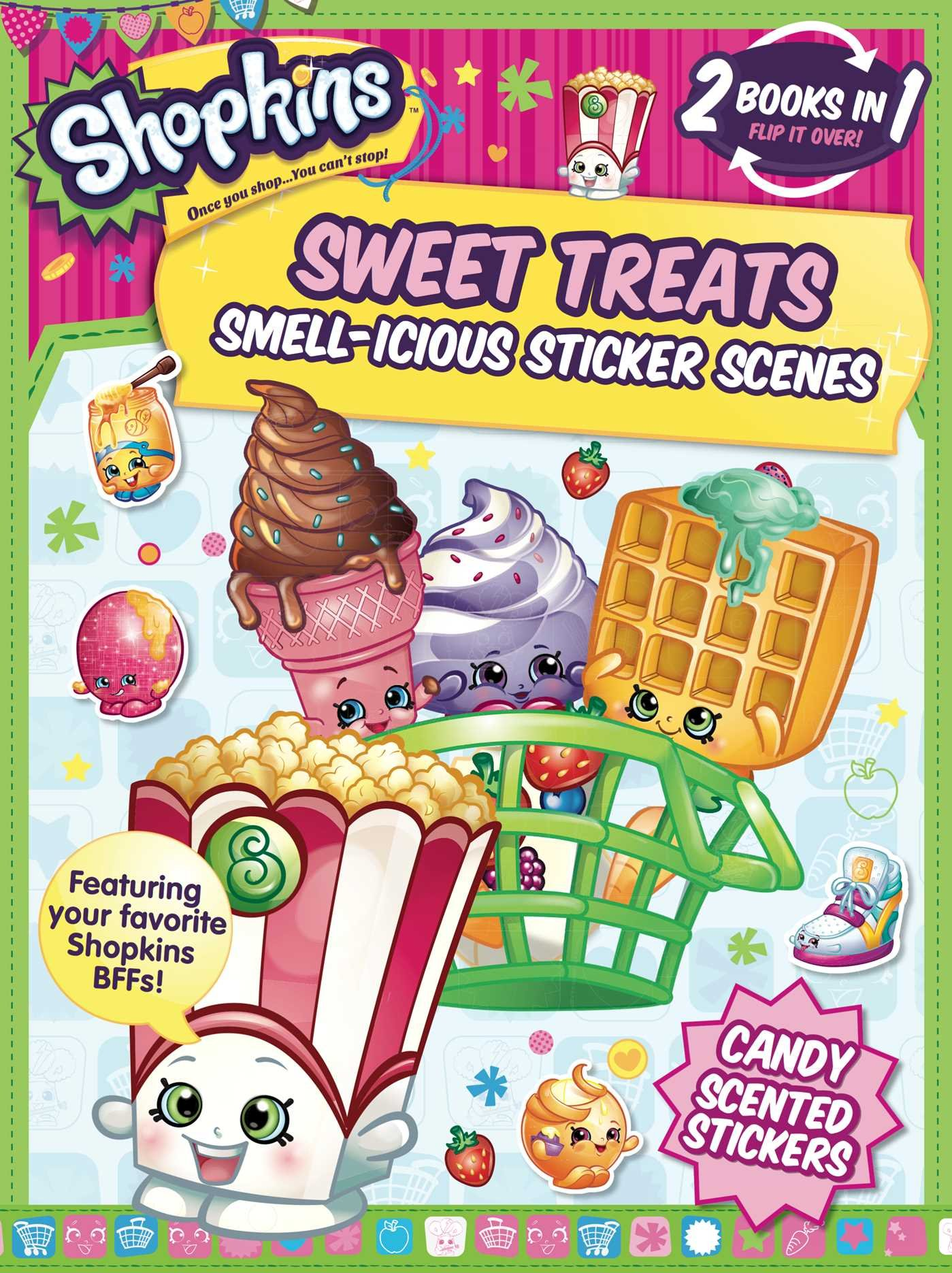 Where to buy shopkins coloring book - Shopkins Sweet Treats Cheeky Chocolate Sticker And Activity Book Little Bee Books 9781499802245 Amazon Com Books
