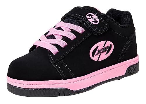 huge discount fe534 23ca7 Heelys X2 Fresh, Zapatillas Unisex Niños, Varios Colores (Black Pink), 30